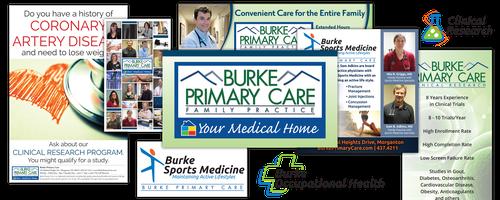 Burke Primary Care branding