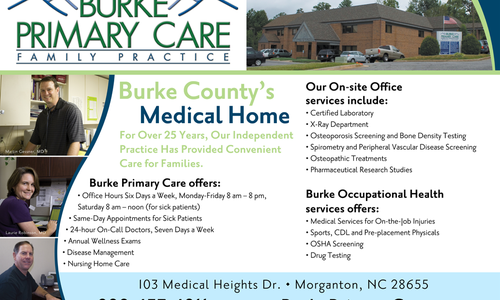 Burke Primary Care Educates Patients