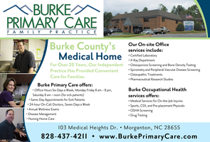 Burke Primary Care ad