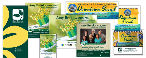 Dr. Amy Brooks Branding