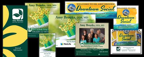 Dr. Amy Brooks Branding