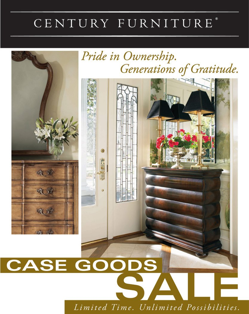 Century Furniture Ind. Direct Mailer