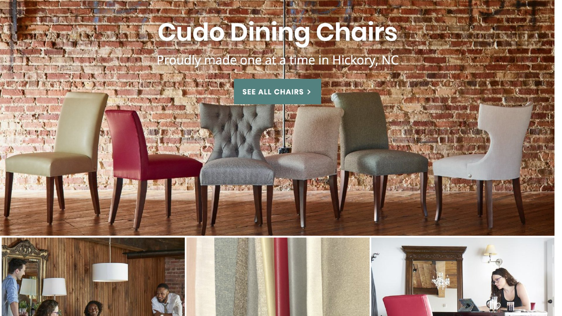 VanNoppen Marketing Creates CudoChairs.com for e-commerce