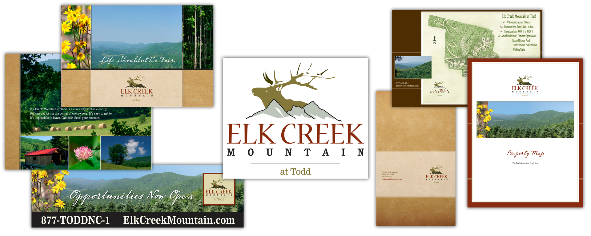 Elk Creek Mountain print