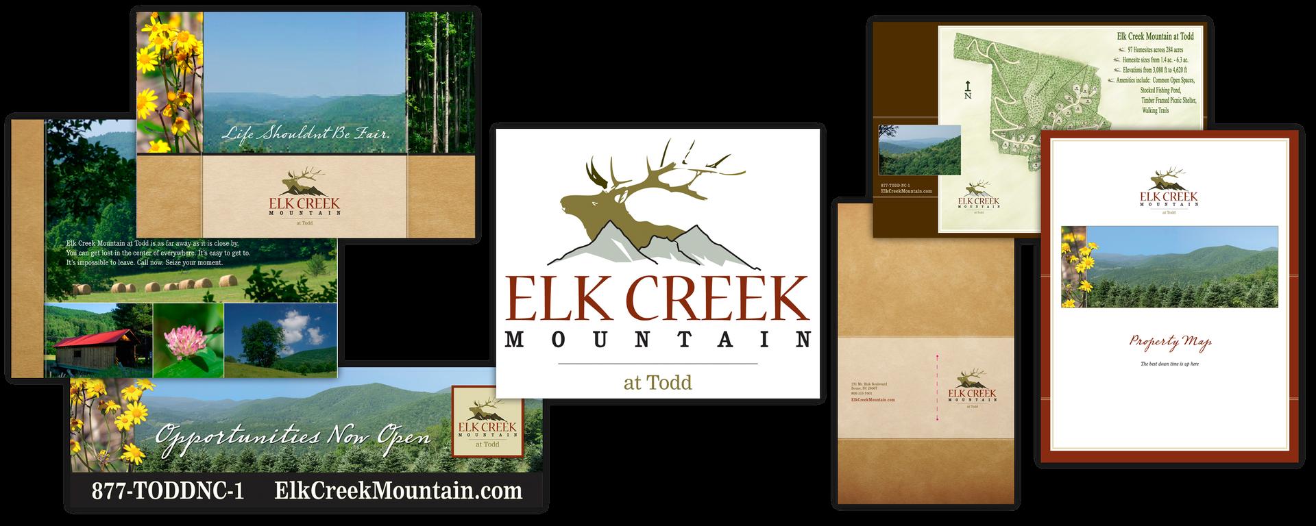 Elk Creek Mountain print