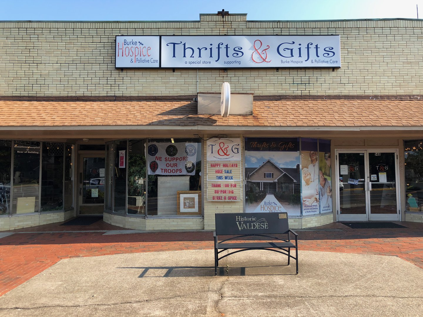 Thrifts & Gifts Storefront