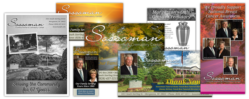 Sossoman Funeral Home Advertising