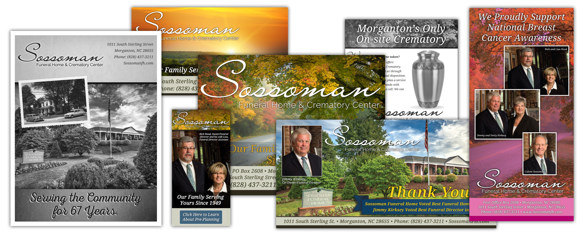 Sossoman Funeral Home Advertising