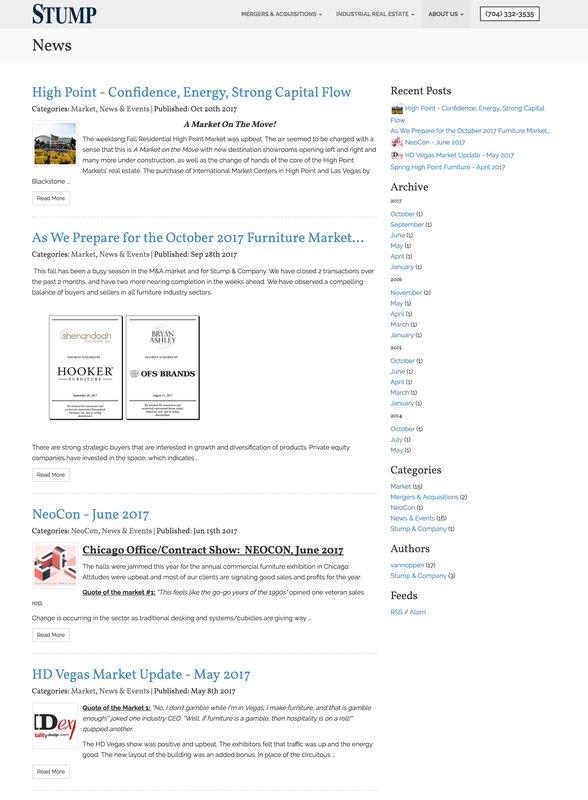 Stump News Page