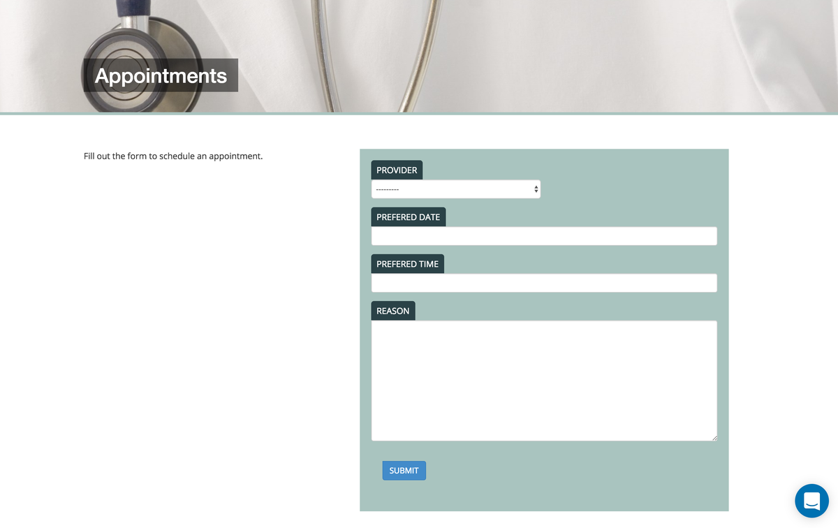 Burke Primary Care website online appointments