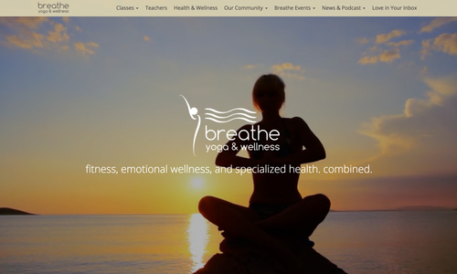 Breathe Yoga & Wellness Studio Opening in Morganton