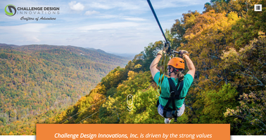 Challenge Design Innovations website homepage
