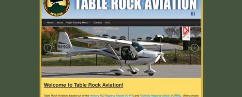 Table Rock Aviation's Website Goes Upstairs