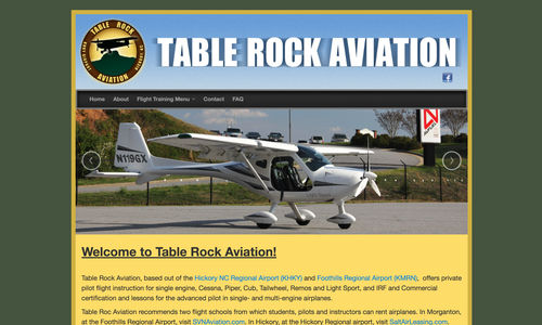 Table Rock Aviation launches Blog