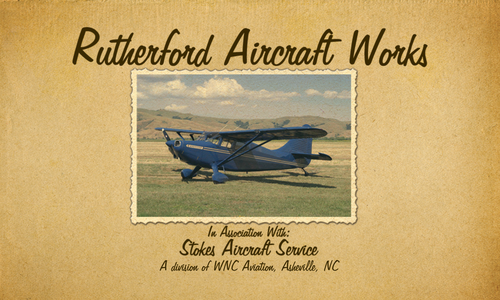 Welcome Rutherford Aircraft Works!