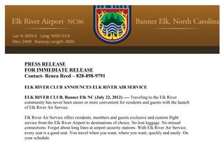 Elk River Airport pr
