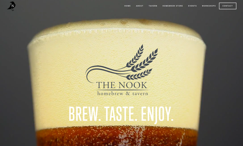VanNoppen Builds New Website for The Nook