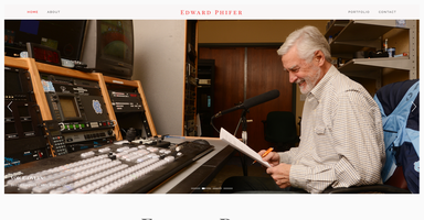 Edward Phifer New Website