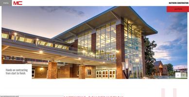 Matthews Construction website