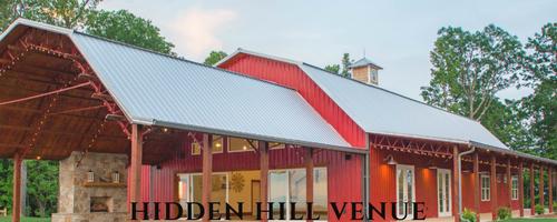 Congratulations Hidden Hill Venue!