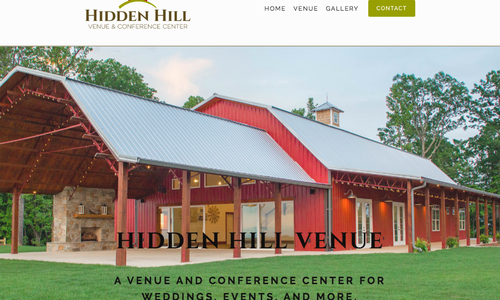 Congratulations Hidden Hill Venue!