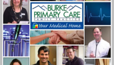 VanNoppen Marketing Develops New Appointment Card for Burke Primary Care