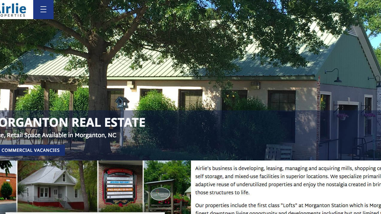 VanNoppen Launches New Website for Airlie Properties