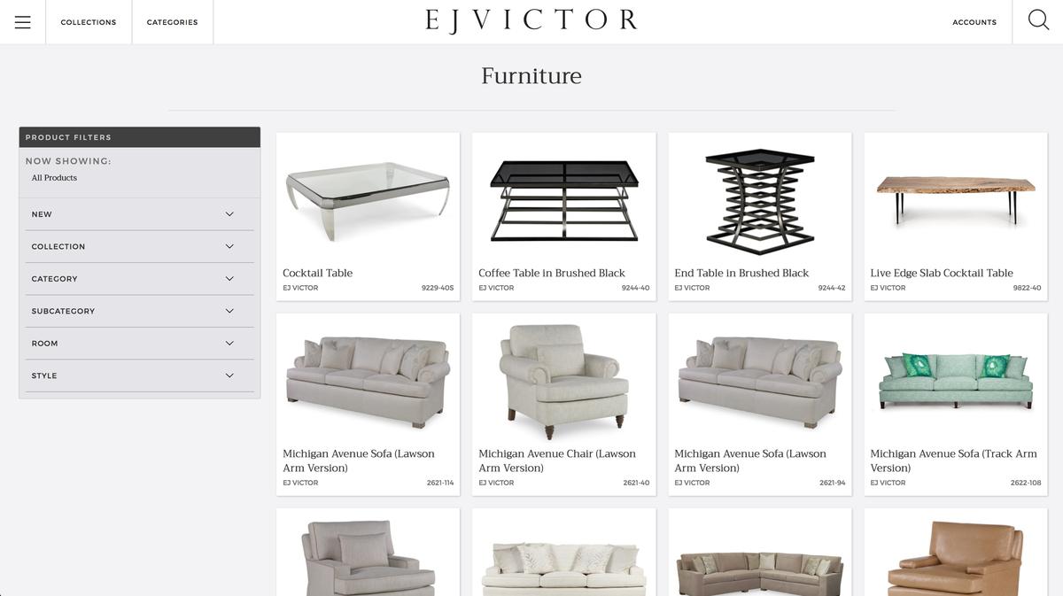 Furniture Filters