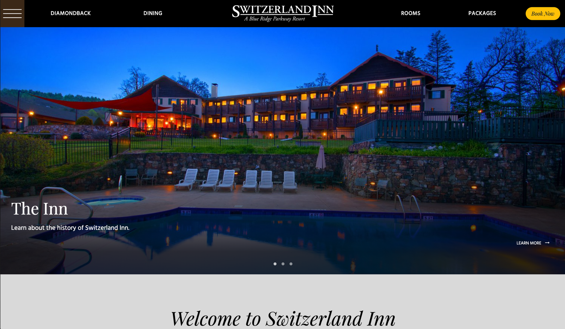 Switzerland Inn New website home