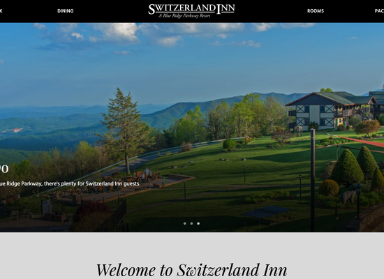 Switzerland Inn New Website