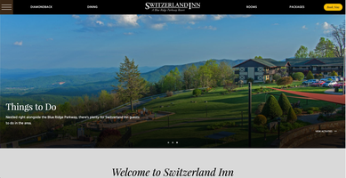 Switzerland Inn New Website