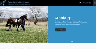 Equine Sports Medicine of Maryland Website