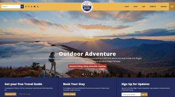 McDowell County Tourism web development