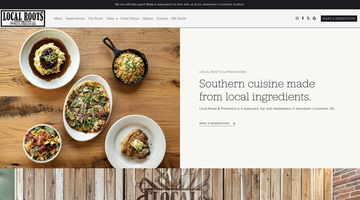 Local Roots & Provisions website