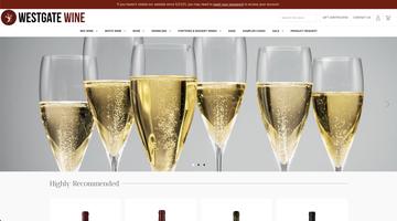 Westgate Wine eCommerce Website