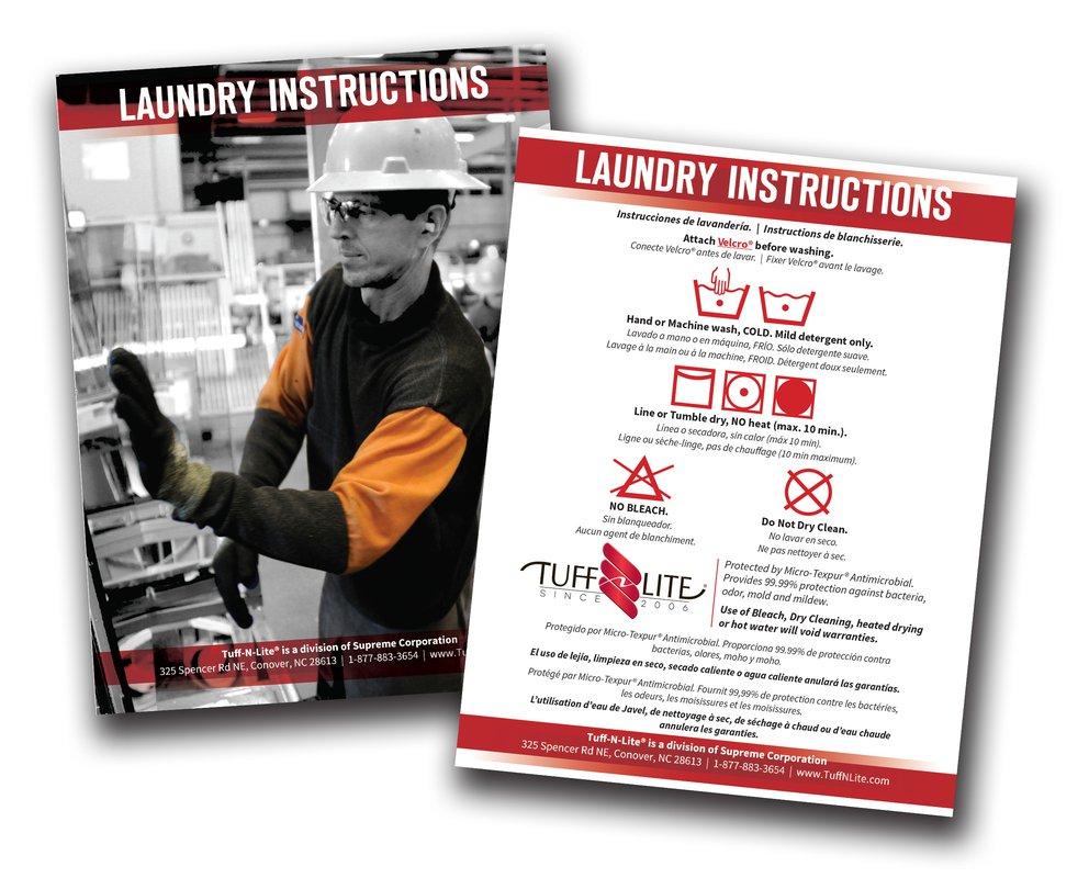 Laundry Card