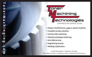 Toner Machining Technologies Ad