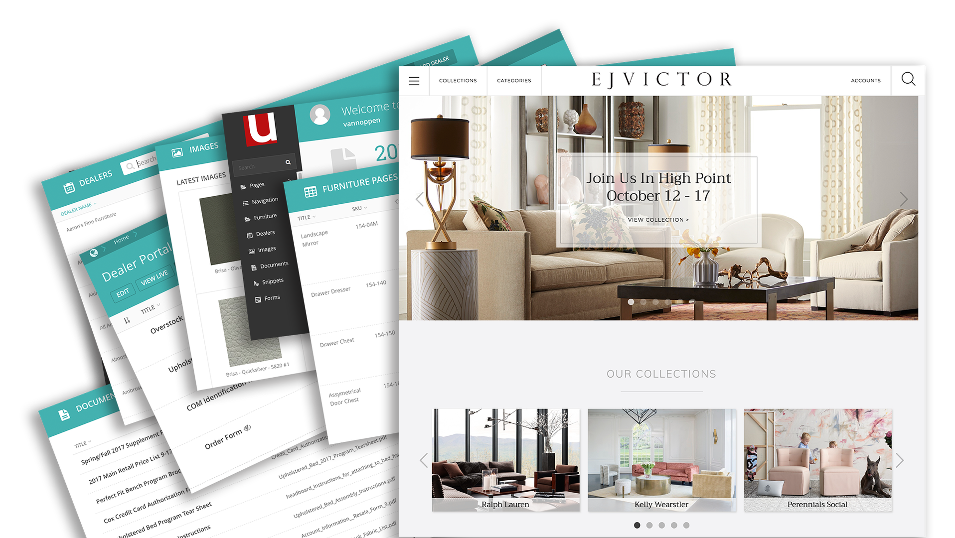 Furniture Website Engine