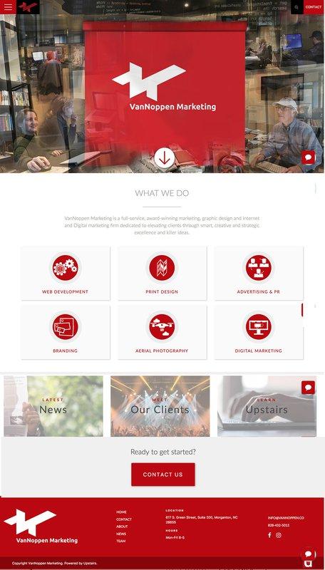 VanNoppen Marketing Website