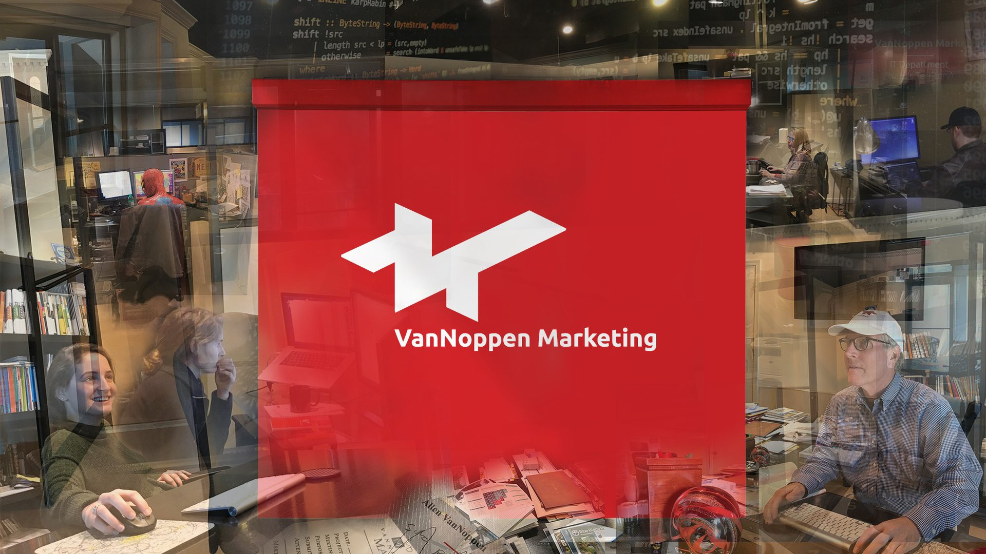 VanNoppen Marketing specializes in website design, website development, social media marketing, AdWords, graphic design, logos, and more.