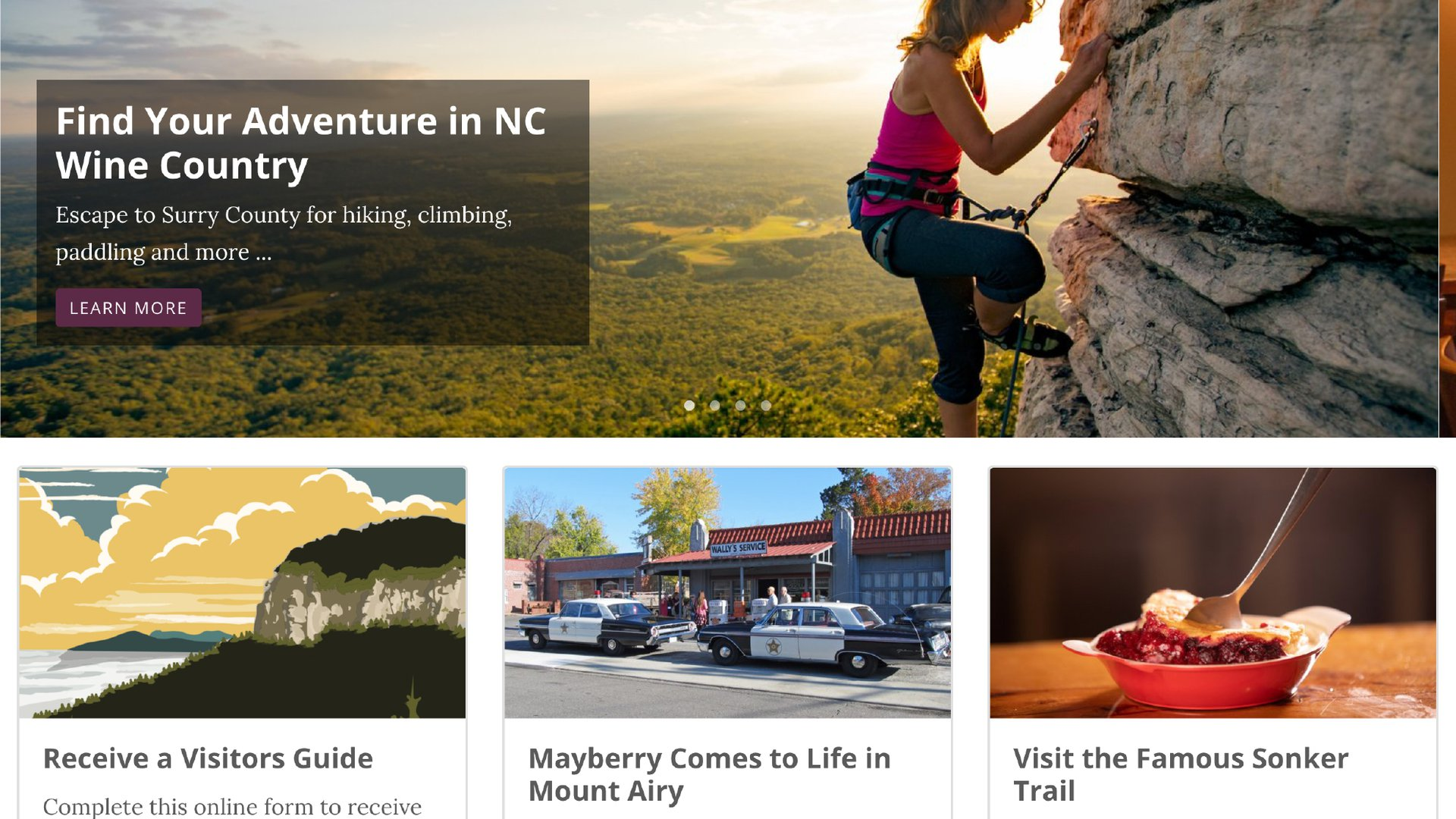 Surry County Launches New Website