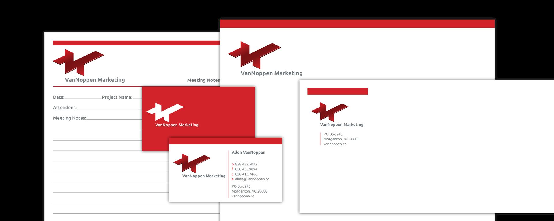 VanNoppen Marketing Rebranding
