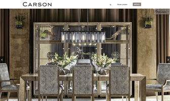 Carson Furniture website