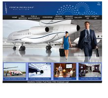 FontaineBleau website homepage