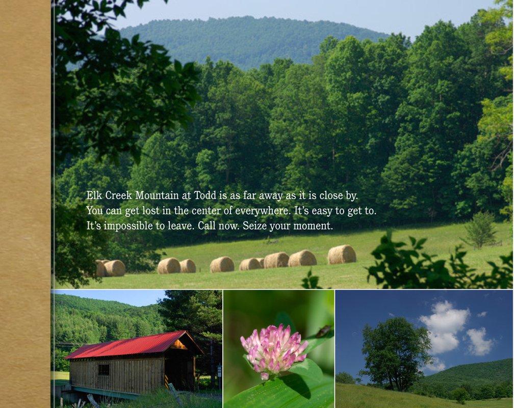Elk Creek Mountain inside page