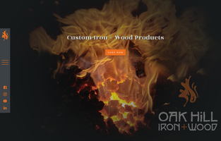 Oak Hill Iron website