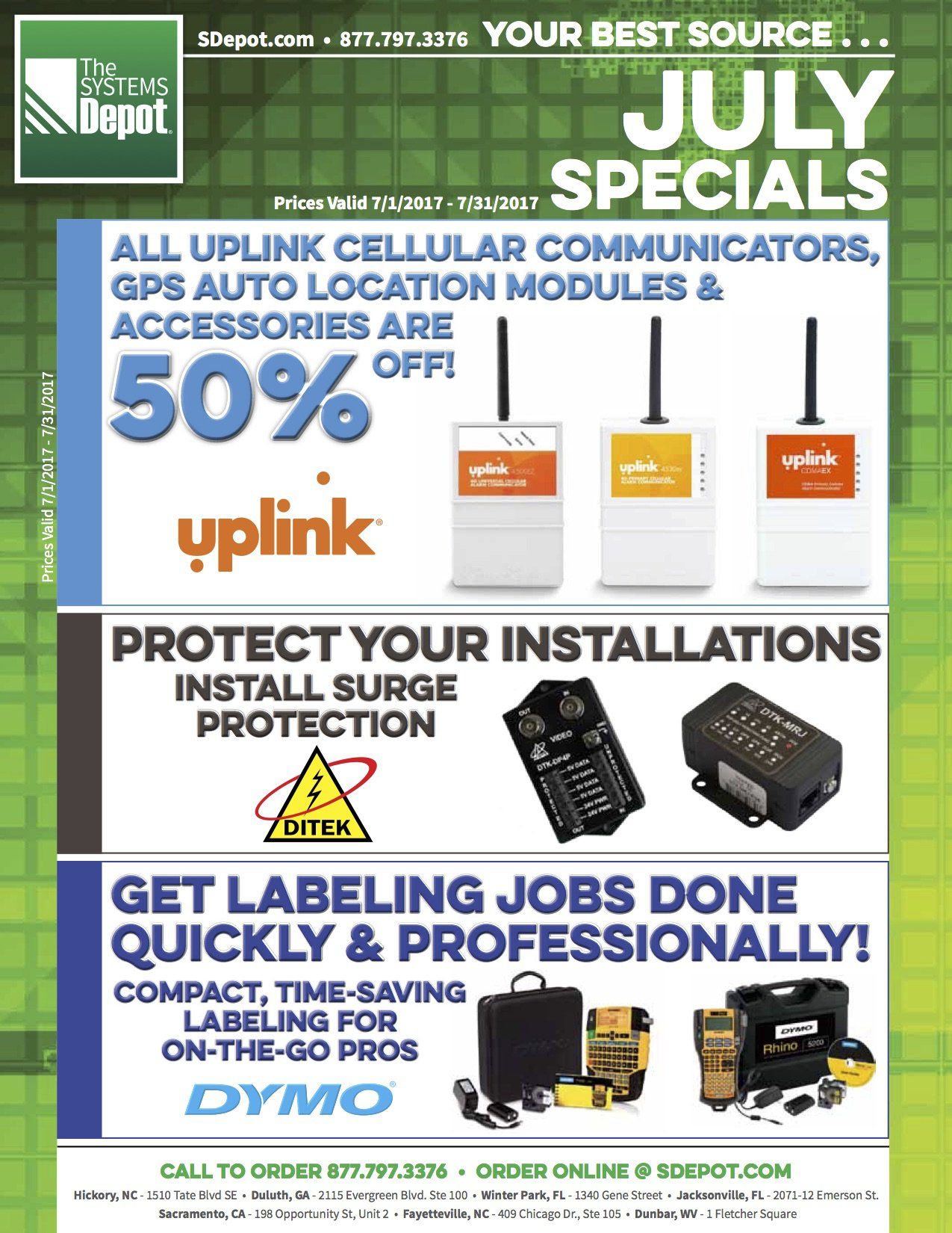 Systems Depot newsletter