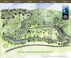 White Sulphur Springs Map